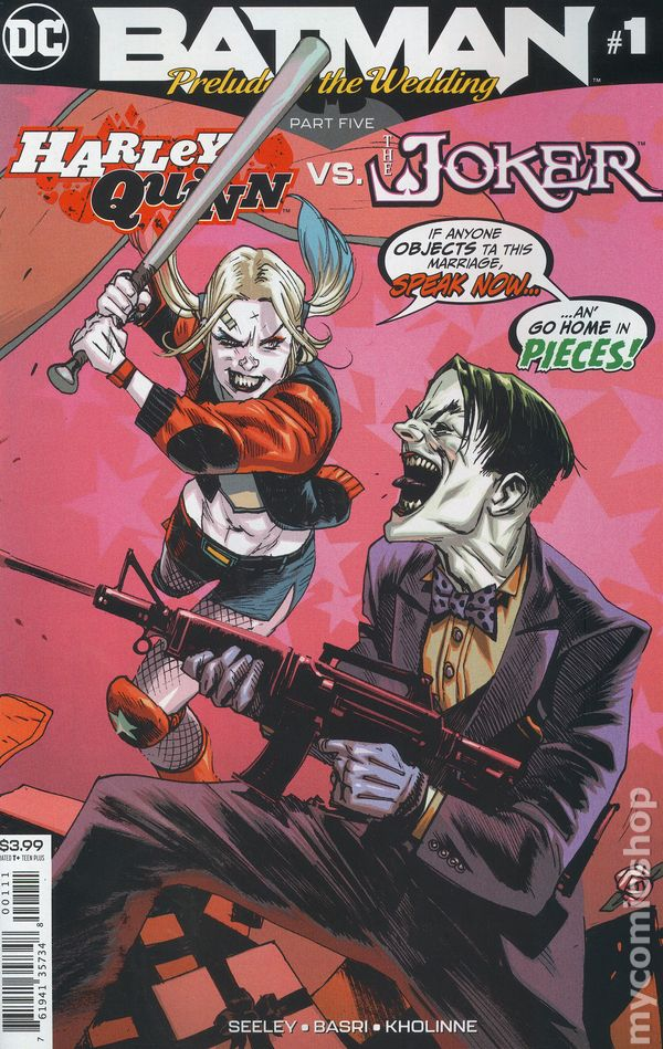 Batman Prelude To The Wedding Harley Vs Joker 2018 Dc 1 Nm