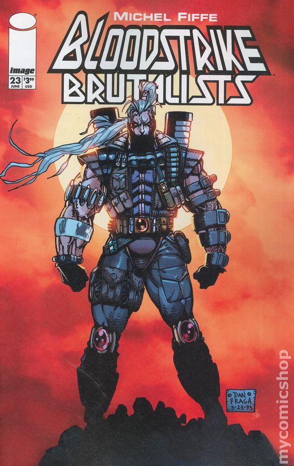 Image Comics 2018 Bloodstrike Brutalist #0 Cover C