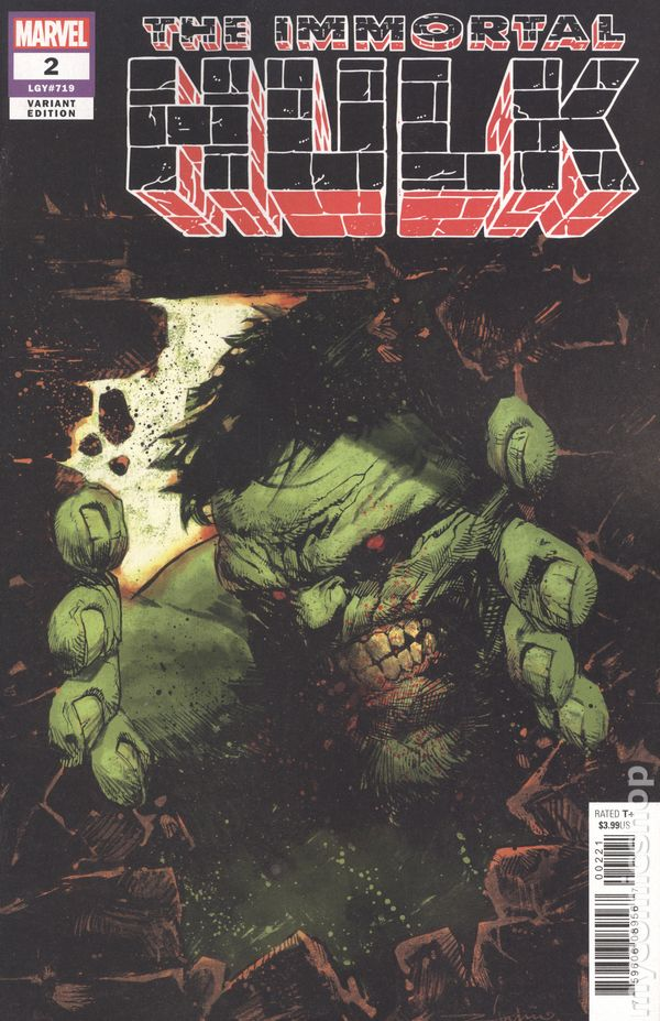 Hulk #2A 2017 Dekal Variant NM Stock Image