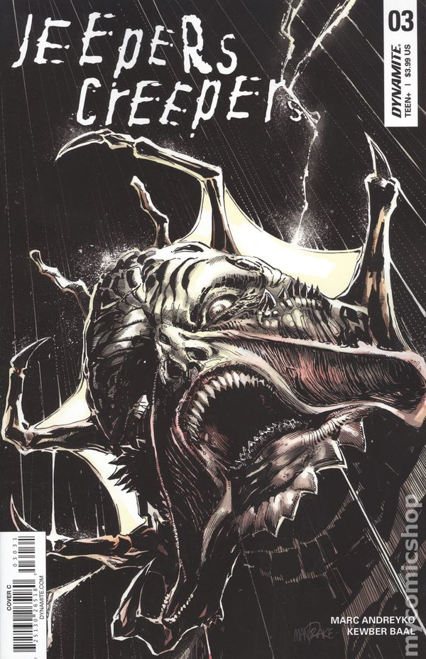 Jeepers Creepers (2018 Dynamite) comic books