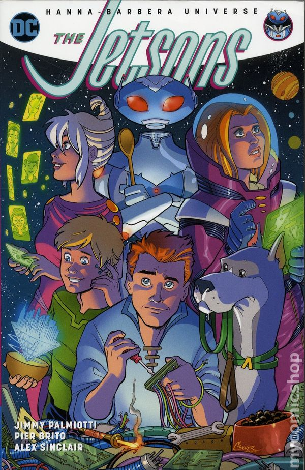 Jetsons TPB (2018 DC) The Hanna-Barbera Universe comic books