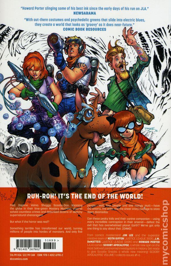 Scooby Apocalypse comic books issue 1