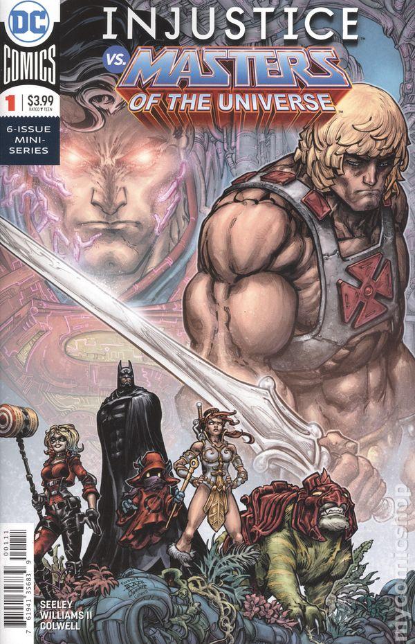 2018 Masters of the Universe Assorted Comics NM DC Comics Injustice vs