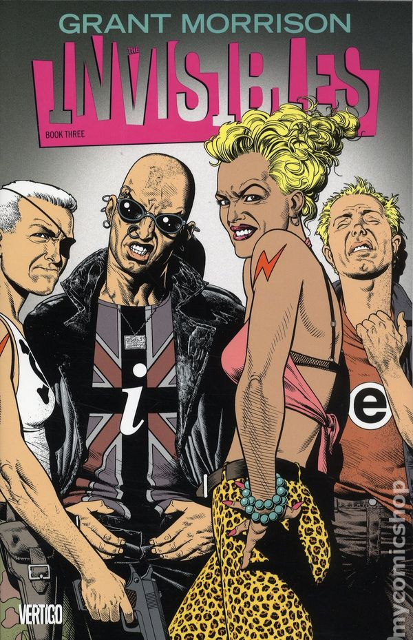 Invisibles TPB Deluxe Edition #4-1ST NM 2018 Stock Image