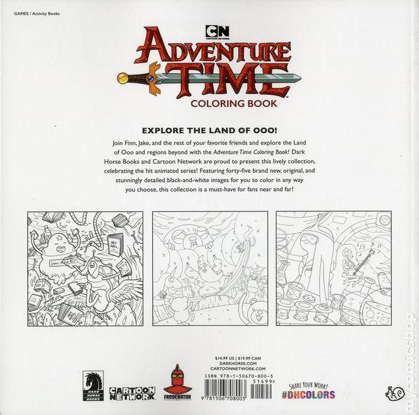 Adventure Time Adult Coloring Book SC (2018 Dark Horse) Comic Books