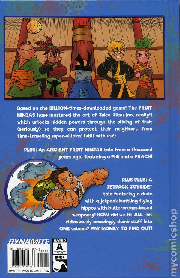 Fruit Ninja and Jetpack Joyride HC (2018 Dynamite) comic books