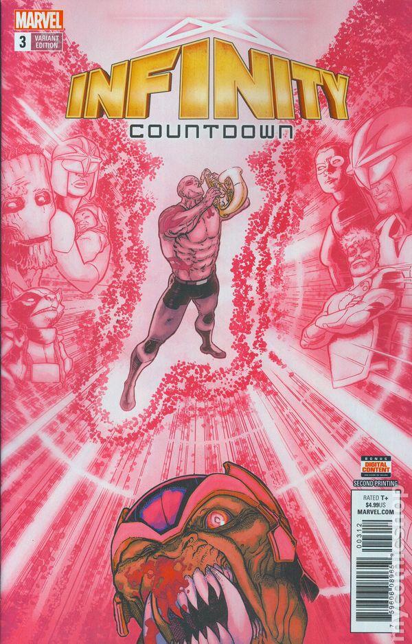Infinity Countdown #3C Granov Variant NM 2018 Stock Image