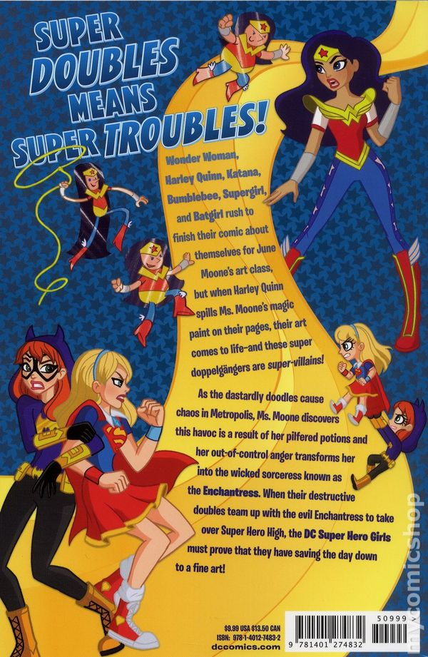 Dc Super Hero Girls Comic Book #1 Consumers First Comics Collectibles
