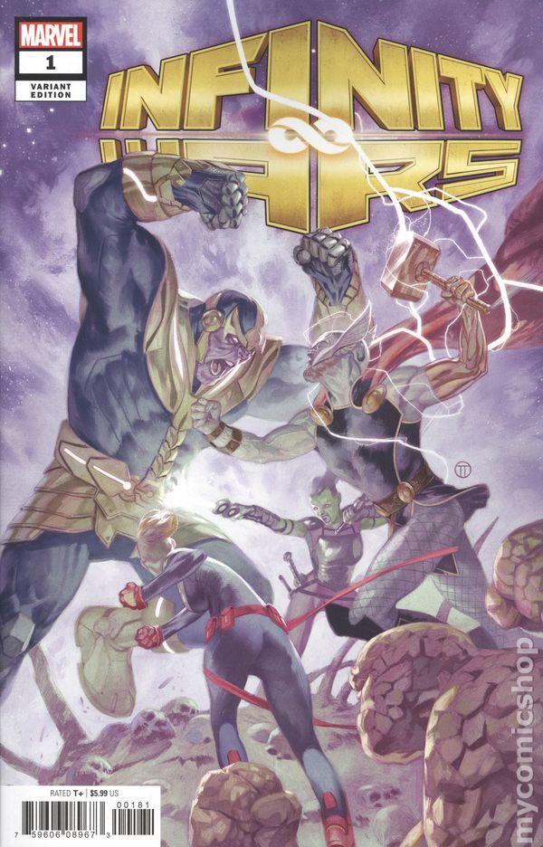 Marvel Comics INFINITY WARS FALLEN GUARDIAN # first printing variant