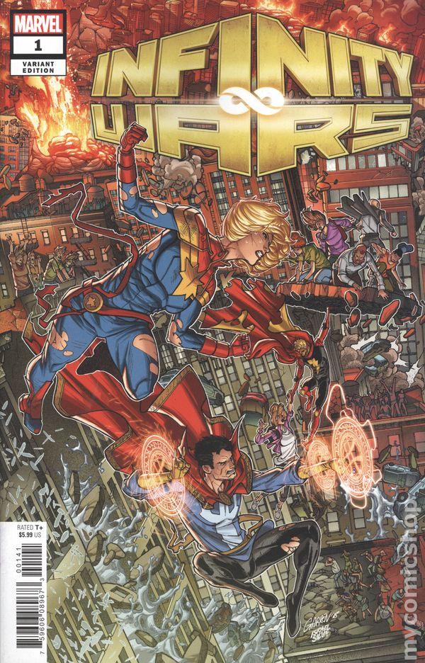 Marvel Comics Infinity Wars #1 Salvador Espin Party Variant NEW
