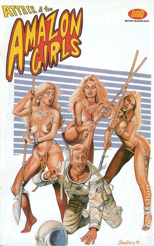 Attack of the Amazon Girls (1994 Fantaco) 1