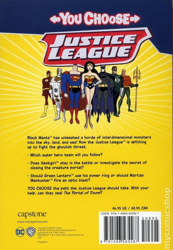justice league the portal of doom sc