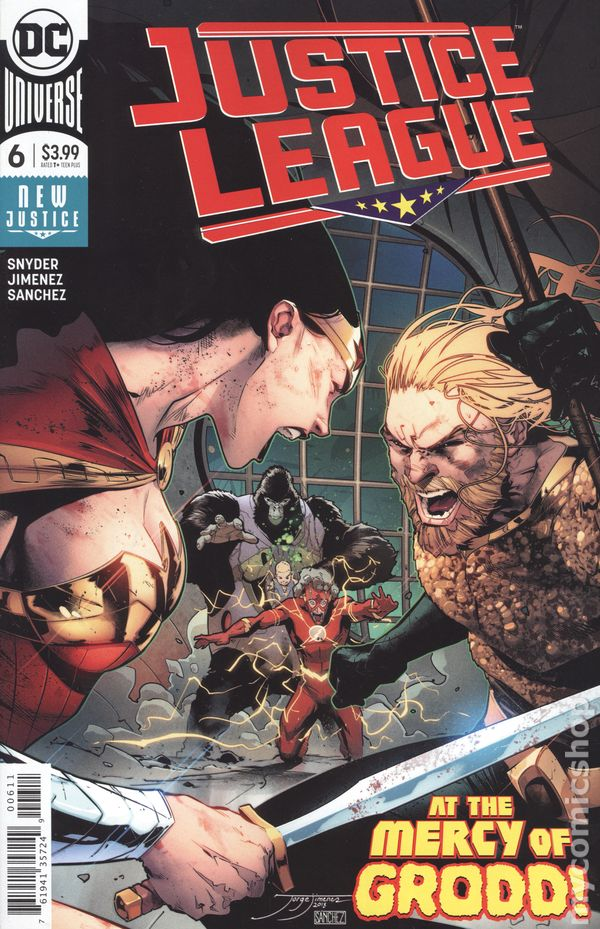 Justice League of America #6A Reis Variant VF 2013 Stock Image