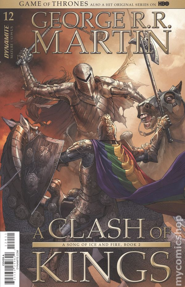 NM Cover F A Game Of Thrones A Clash Of Kings #1 `17 Martin// Quinn// Rubi