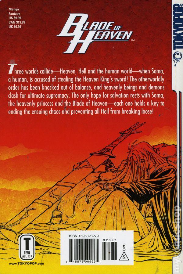 ... Blade Of Heaven TPB (2005 Tokyopop) 1 1ST