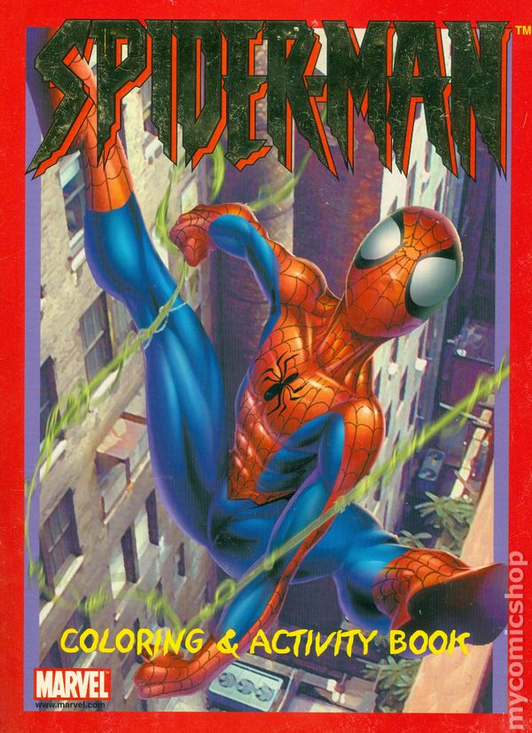 - Spider-Man Coloring And Activity Book SC (2002 Paradise) Comic Books