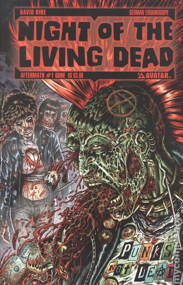 NIGHT O//T LIVING DEAD AFTERMATH #7 DAVID HINE TERROR VARIANT NEW