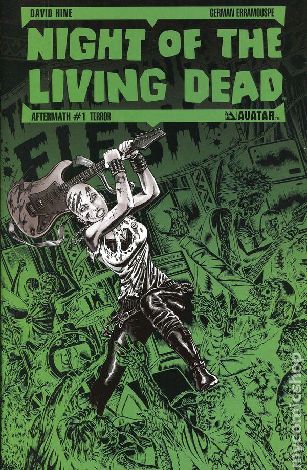 NIGHT O//T LIVING DEAD AFTERMATH #6 DAVID HINE TERROR VARIANT NEW