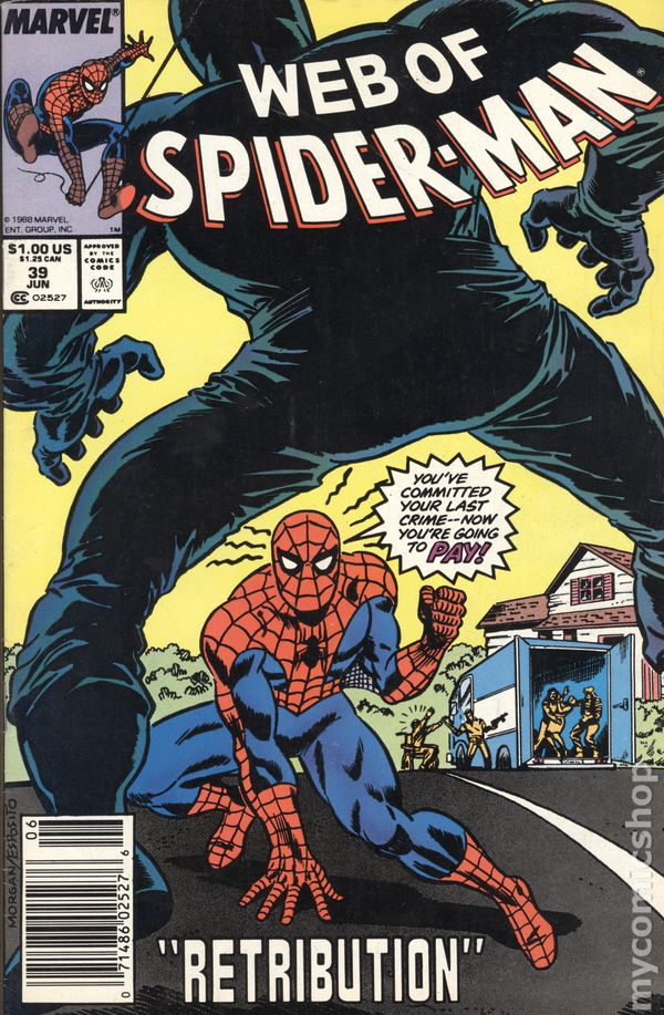 SPIDER-MAN #39 MARVEL COMICS 1993 NM+