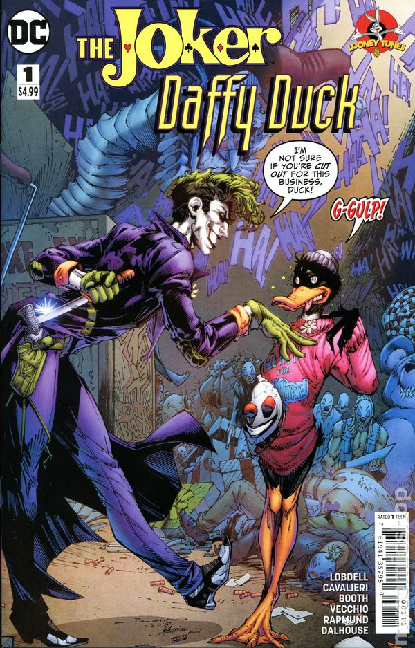 Joker Daffy Duck Special 2018 Dc 1a Nm
