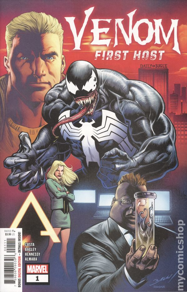 VENOM FIRST HOST #2 Marvel Comics NM 2018