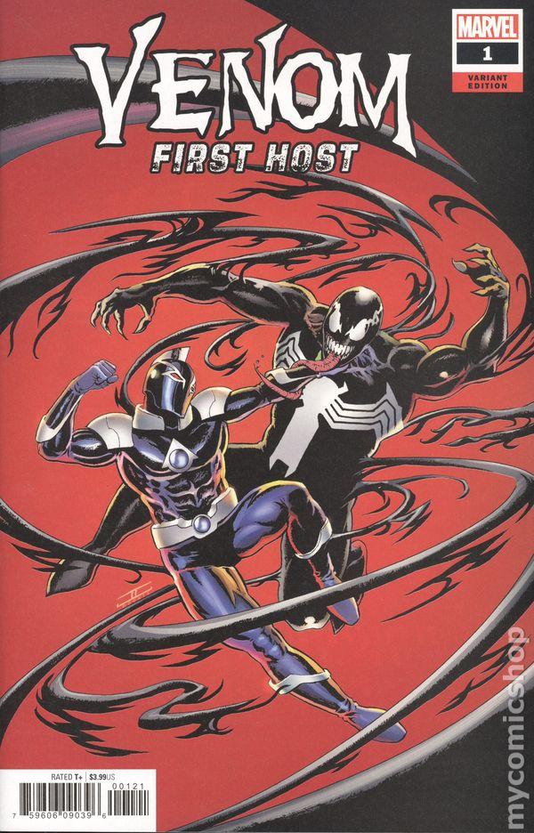 Venom First Host (2018 Marvel) comic books
