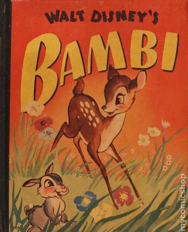 Bambi 1942 Whitman Blb Comic Books 1941 1943