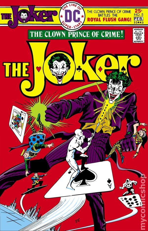 Joker 1975 Dc Comic Books
