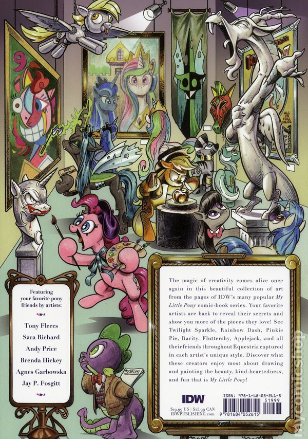 MY LITTLE PONY ART IS MAGIC TP VOL 01 IDW PUBLISHING