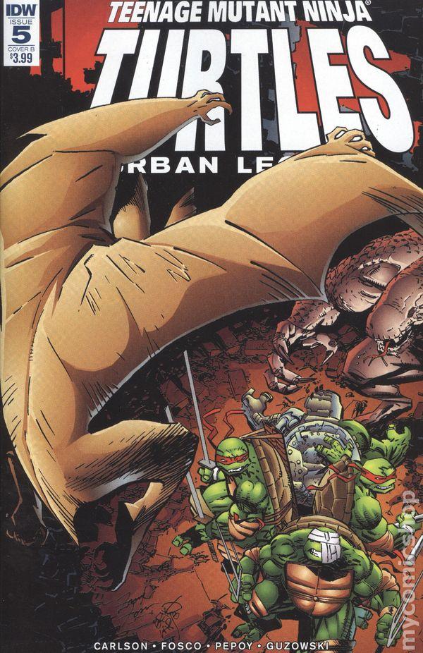Teenage Mutant Ninja Turtles #73 Cover B  Variant  IDW Comics CB13182