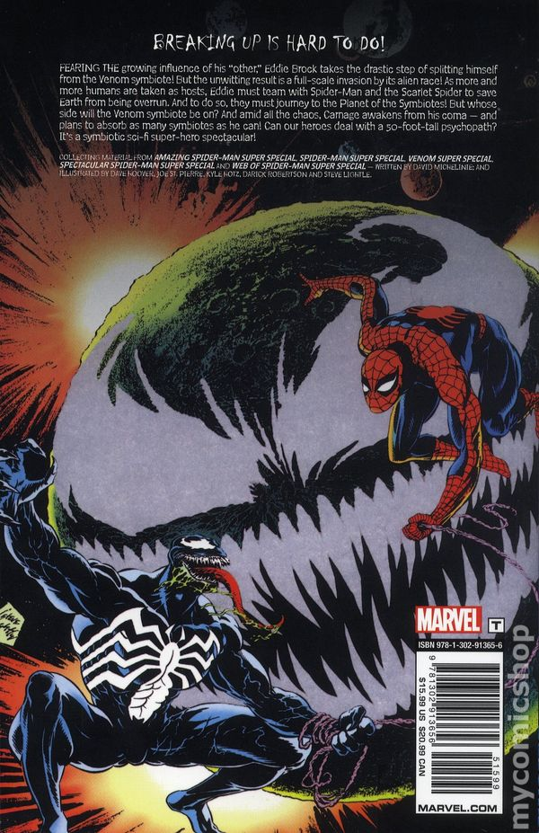 Comic Books In Planet Of The Symbiotes