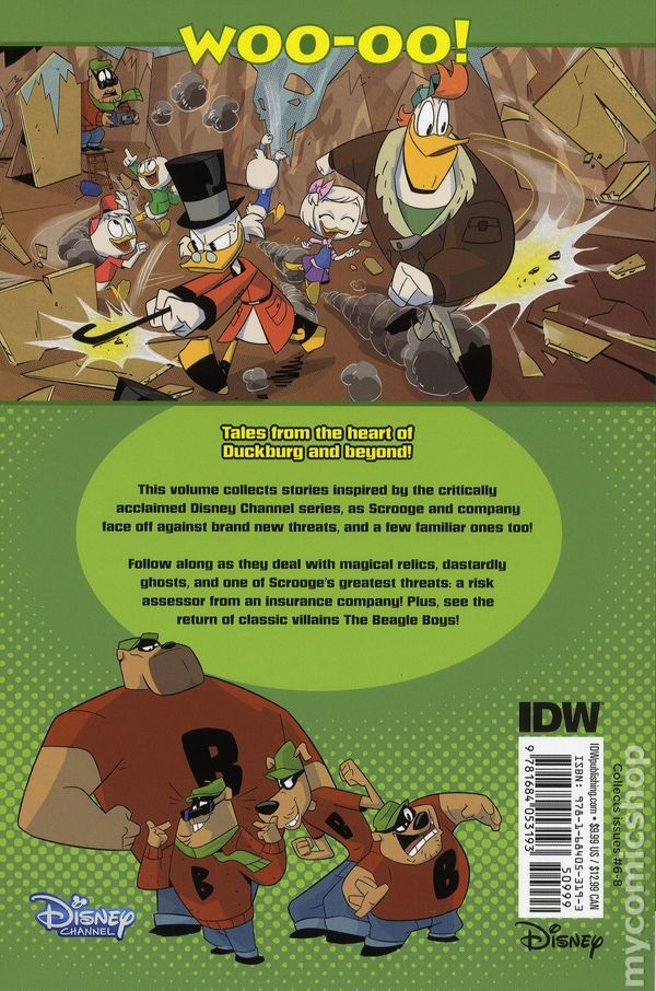 DuckTales Quests And Quacks TPB 2018 IDW 1 1ST