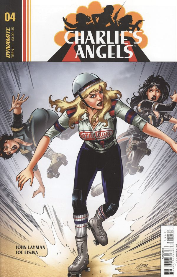 Vault 35 Charlie/'s Angels #1 Cover A NM 2018 Dynamite