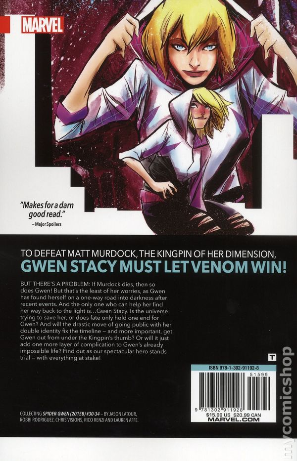 SPIDER-GWEN TPB VOL 1 GREATER POWER REPS 1-6