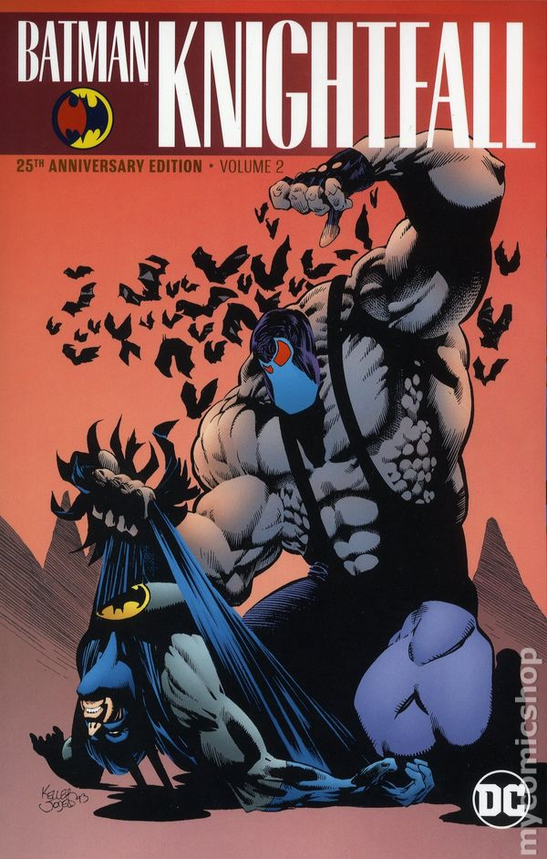 Comic books in 'Batman Knightfall'