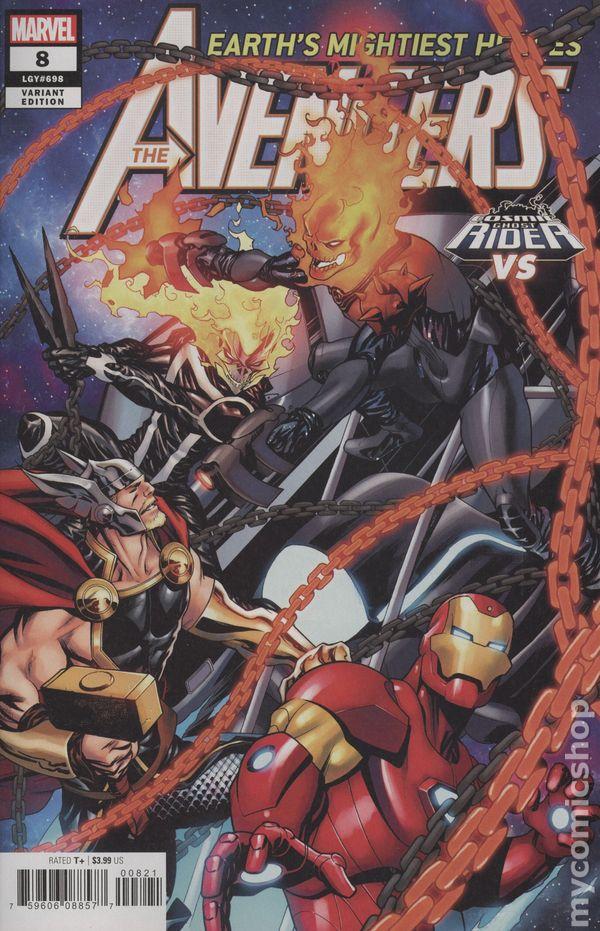 Captain Marvel #8F NM 2019 Stock Image