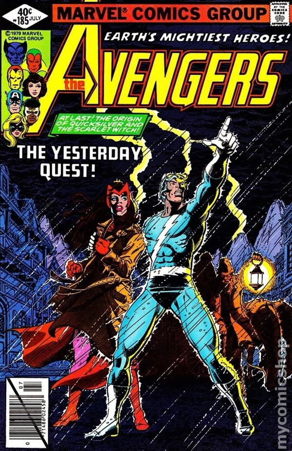 #182 Good Comics Book Moderate Price marvel 1963 Series 100% True Avengers