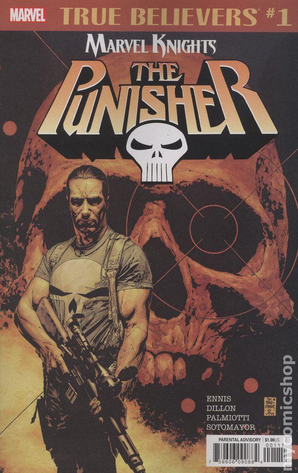 #1-1ST 1991 FN Stock Image Marvel Punisher Bloodlines GN