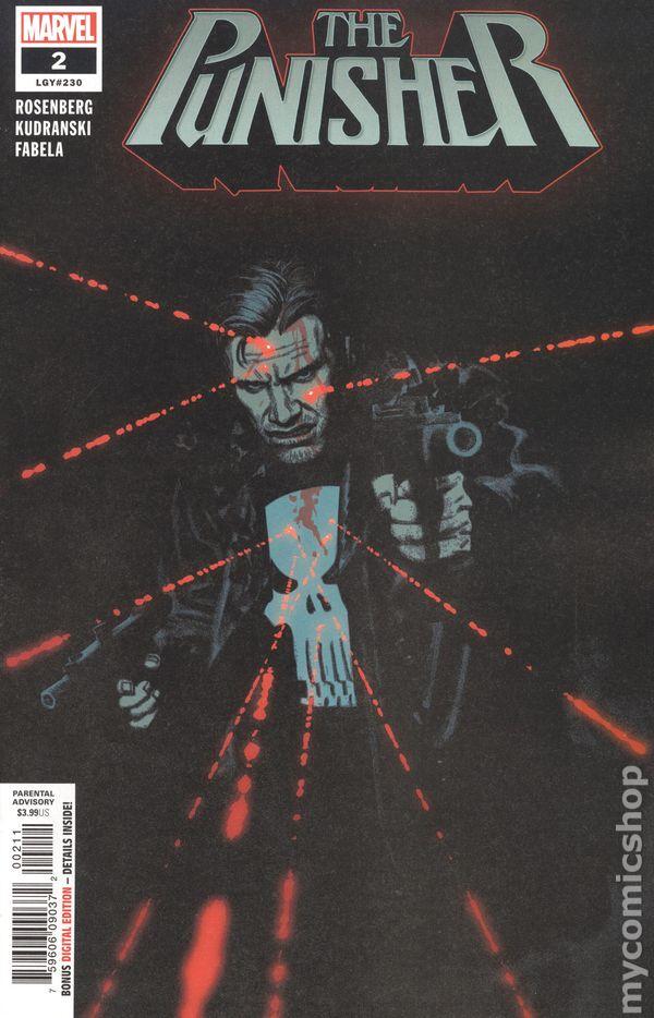 DAREDEVIL PUNISHER #3 $4.99 COVER PRICE MARVEL COMICS 1st PRINT BLOWOUT BOX