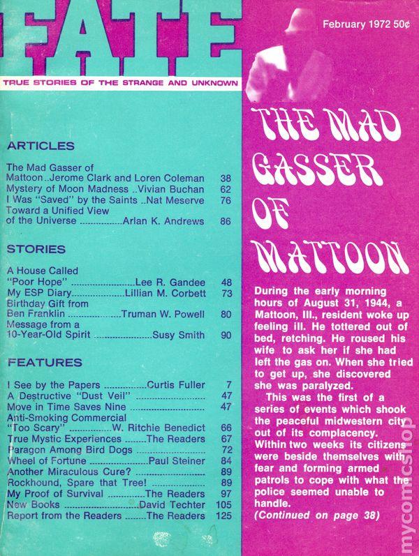 Details about Fate Magazine Digest/Magazine #Vol  25 #2 VG/FN 5 0