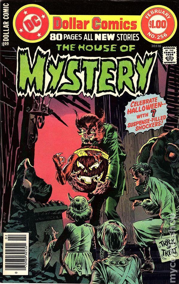 E.R. Cruz House of Mystery # 285 USA, 1980