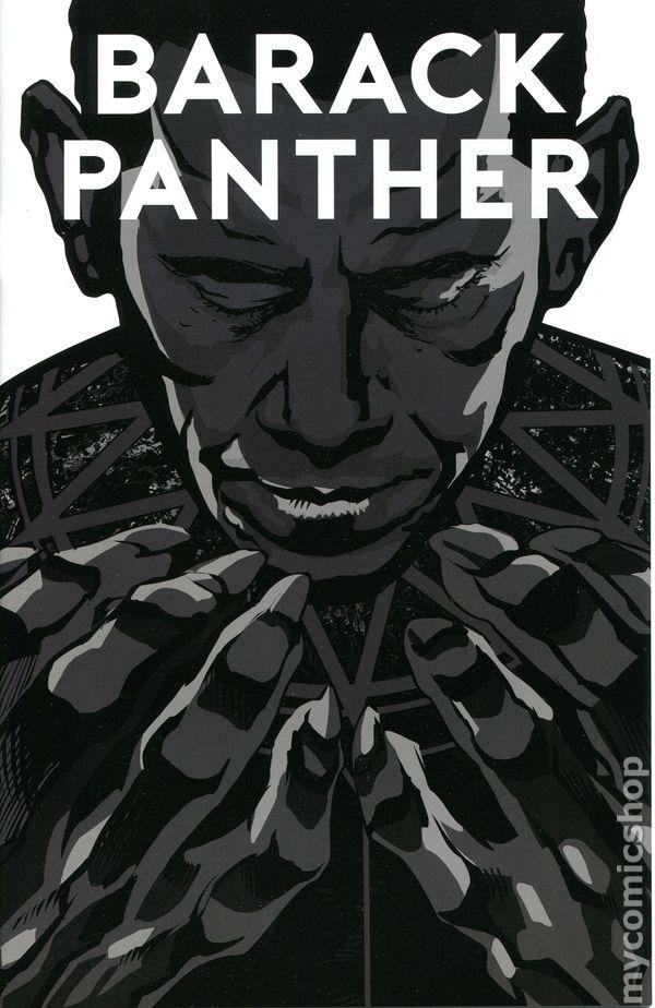 BARACK IN BLACK #1  2019 BARACK PANTHER