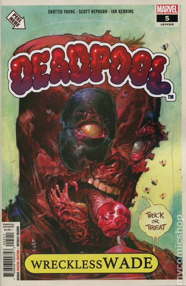 MARVEL COMICS YOU ARE DEADPOOL #5 JULY 2018 ESPIN VARIANT 1ST PRINT NM