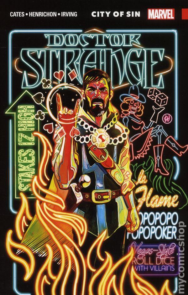 Doctor Strange TPB (2018 Marvel) By Donny Cates comic books