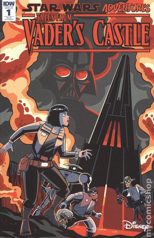 Star Wars Adventures Tales From Vader/'s Castle #1 Cover A NM 2018 IDW Vault 35