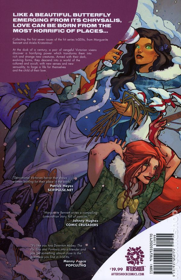 INSEXTS #10 AFTERSHOCK COMICS MARCH 2017