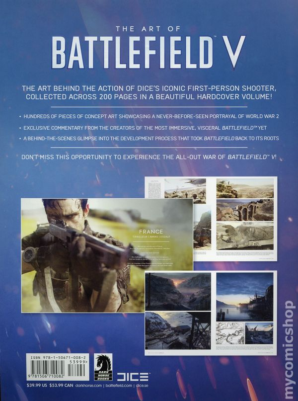 Battlefield comic books issue 1