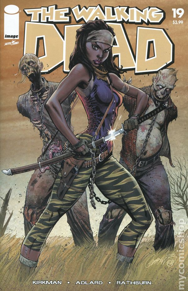 Image Walking Dead 15th Anniversary #48A 2018 VF Stock Image
