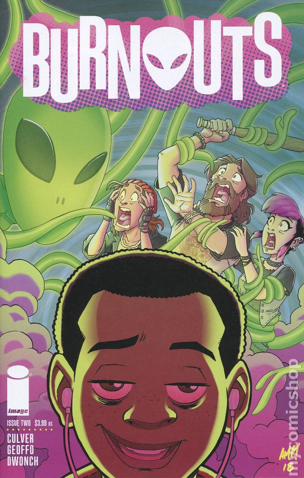 Image result for burnouts #1 comic cover