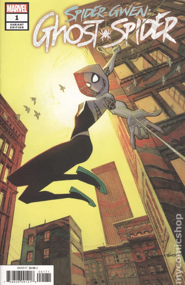 MARVEL COMICS SPIDER-GWEN GHOST SPIDER # 6 NEAR MINT